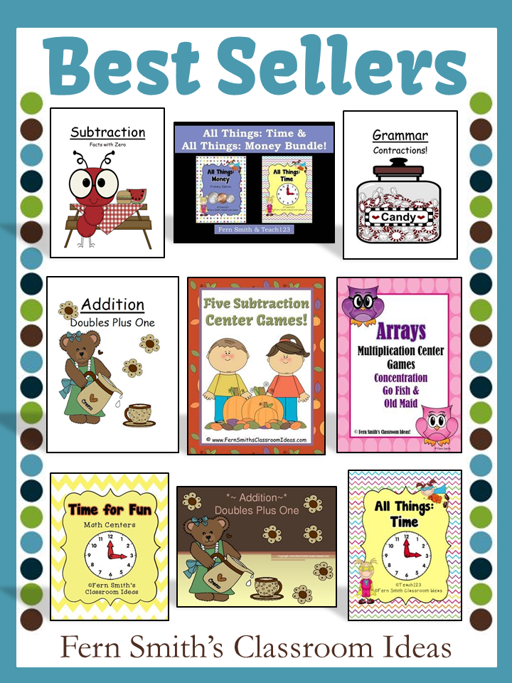 Fern Smith's TeachersPayTeachers BOOST Sale with TPT Discount Code for my Best Seller Items!