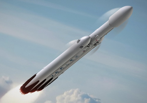 Tinuku SpaceX's Falcon Heavy take travelers to moon in September 2017