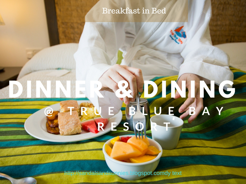 Dinner and Dinning at the True Blue Bay Resort and Villas Grenadian Staycation