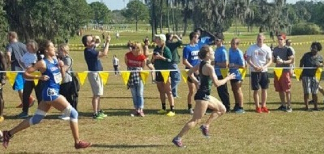 Maria Burroughs at the Championships in St. Leo, FL, in November.