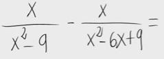 7.Resta de fracciones algebraicas 2