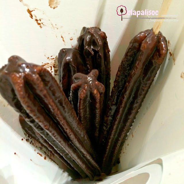 Chocochurros from Churreria La Lola