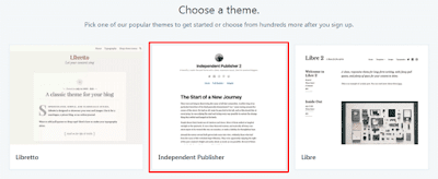 Choose a WordPress Theme