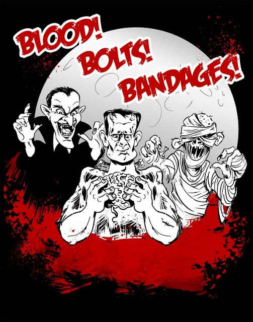 blood! bolts! bandages!