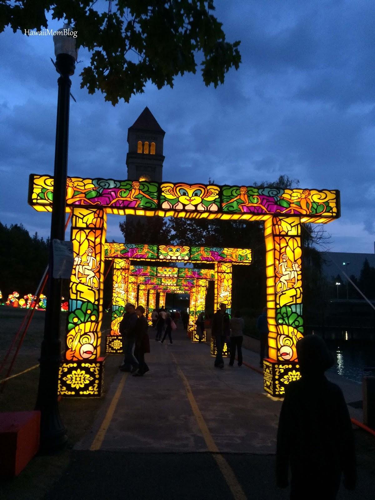 Spokane Lantern Festival Food