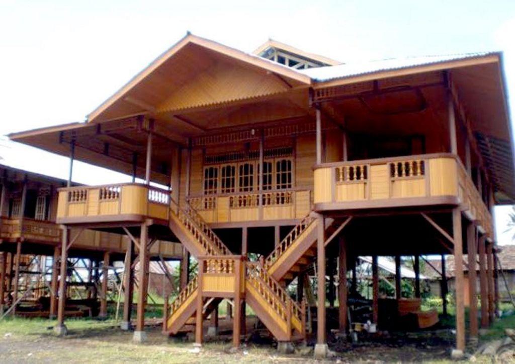 Rancangan Rumah Bambu Minimalis