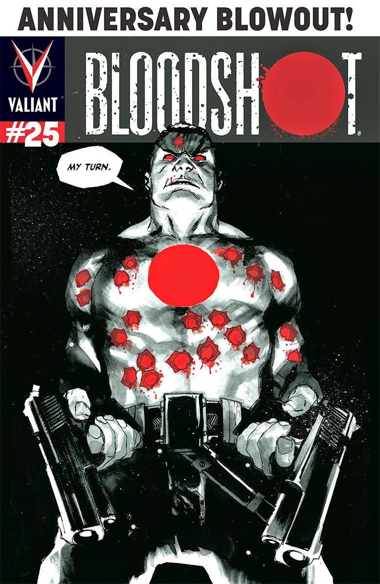 BLOODSHOT #25 – Variant Cover by Rafael Albuquerque