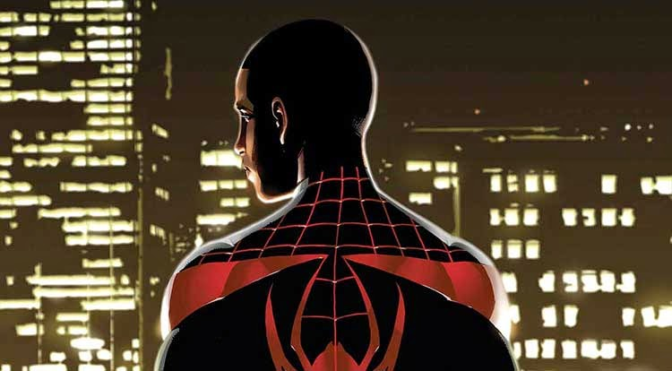 Cover for Brian Michael Bendis' Miles Morales: The Ultimate Spider-Man One