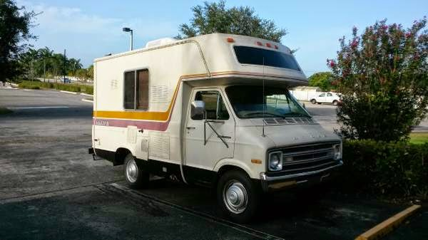 Rvs For Sale In Kansas >> Used RVs Small RV Dodge Sportsman 1977 For Sale by Owner