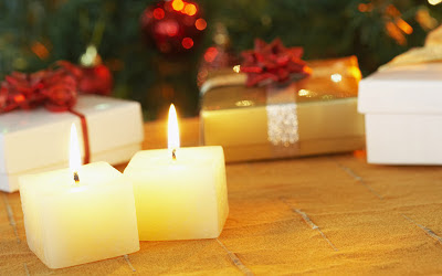 Merry-Christmas-candel_light+wallpapers+free+download