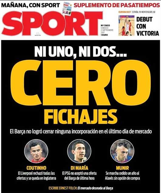"""Truyền thông Tây Ban Nha """"dìm"""" Barcelona 2"""