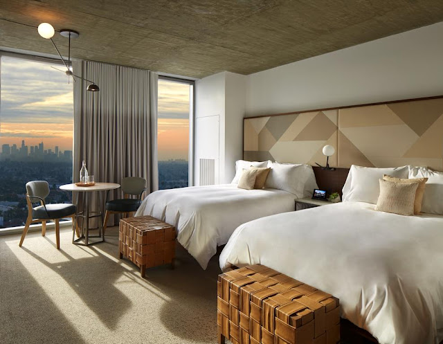 Enjoy a stay at your home away from home at The Jeremy Hotel in West Hollywood.