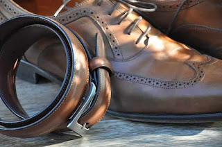 Style and fashion tips :- Belt with shoes