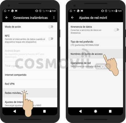 Configurar Internet APN 3G/4G LTE Bitel Perú 2019 - Cosmovil