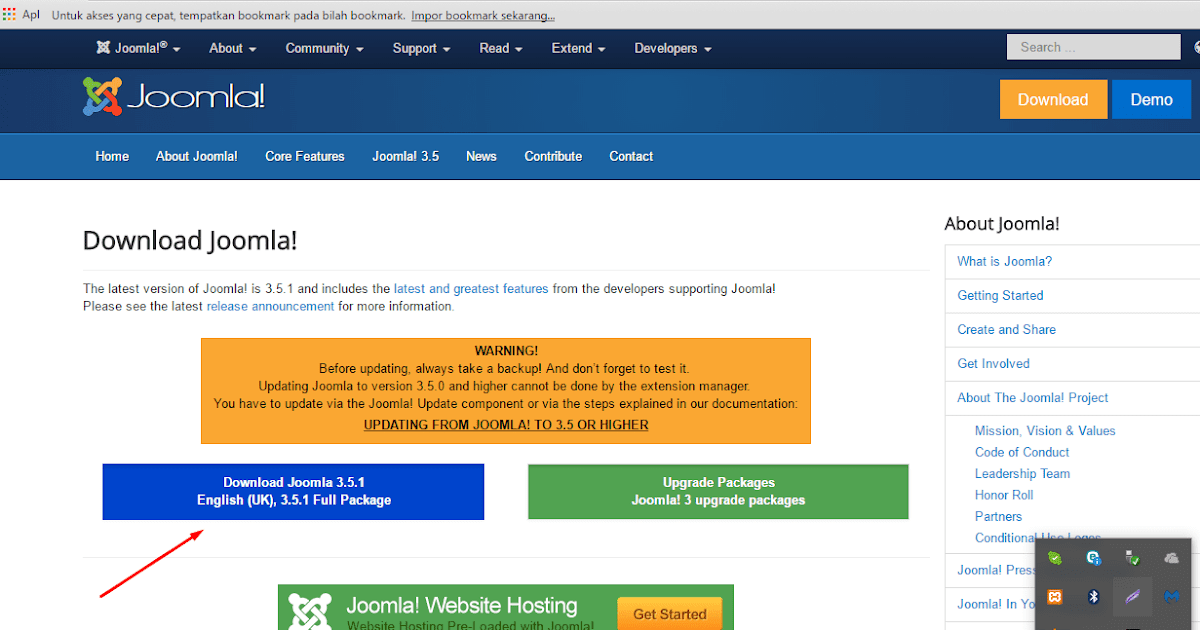 Lengkap Cara membuat website dengan joomla - Bisawebsite || Tutorial ...