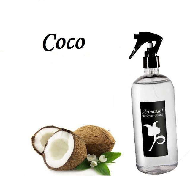 Perfume para la ropa coco