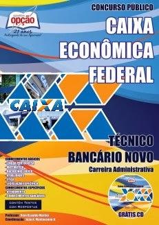 Apostila Técnico Bancário Caixa Econômica Federal