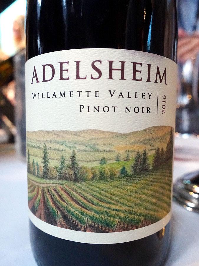 Adelsheim Pinot Noir 2016 (91 pts)