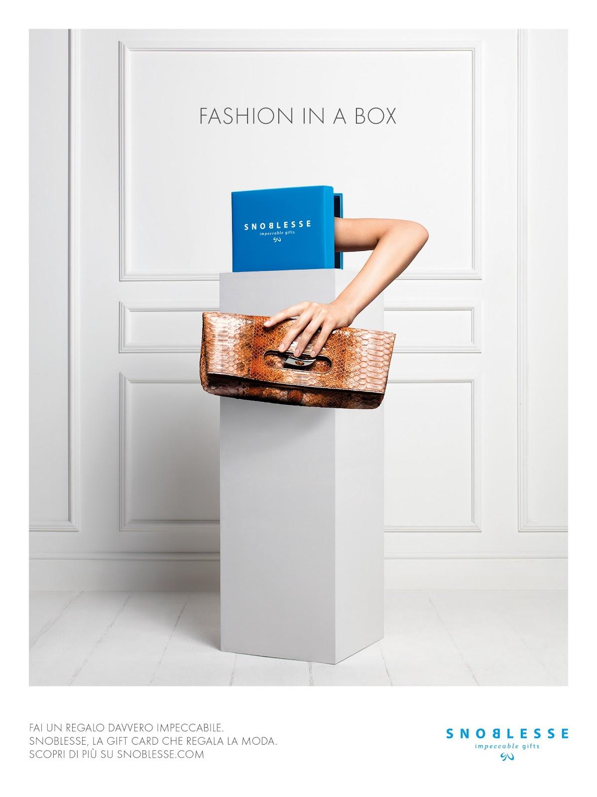snoblesse gift card carta regalo idee donna per lei fashion moda trend present