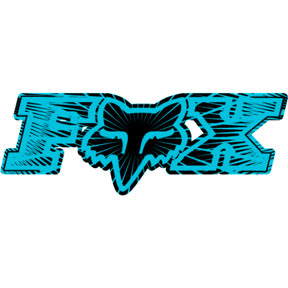 Crazy stick stikers fox racing - Fox and monster logo ...