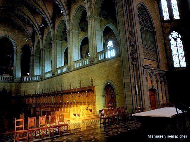 Iglesia de la abadía de Marédret, Valonia, Bélgica
