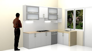 Desain Interior Dapur - Kitchen Set Design Terbaru Plus Anti Rayap - Pest Control