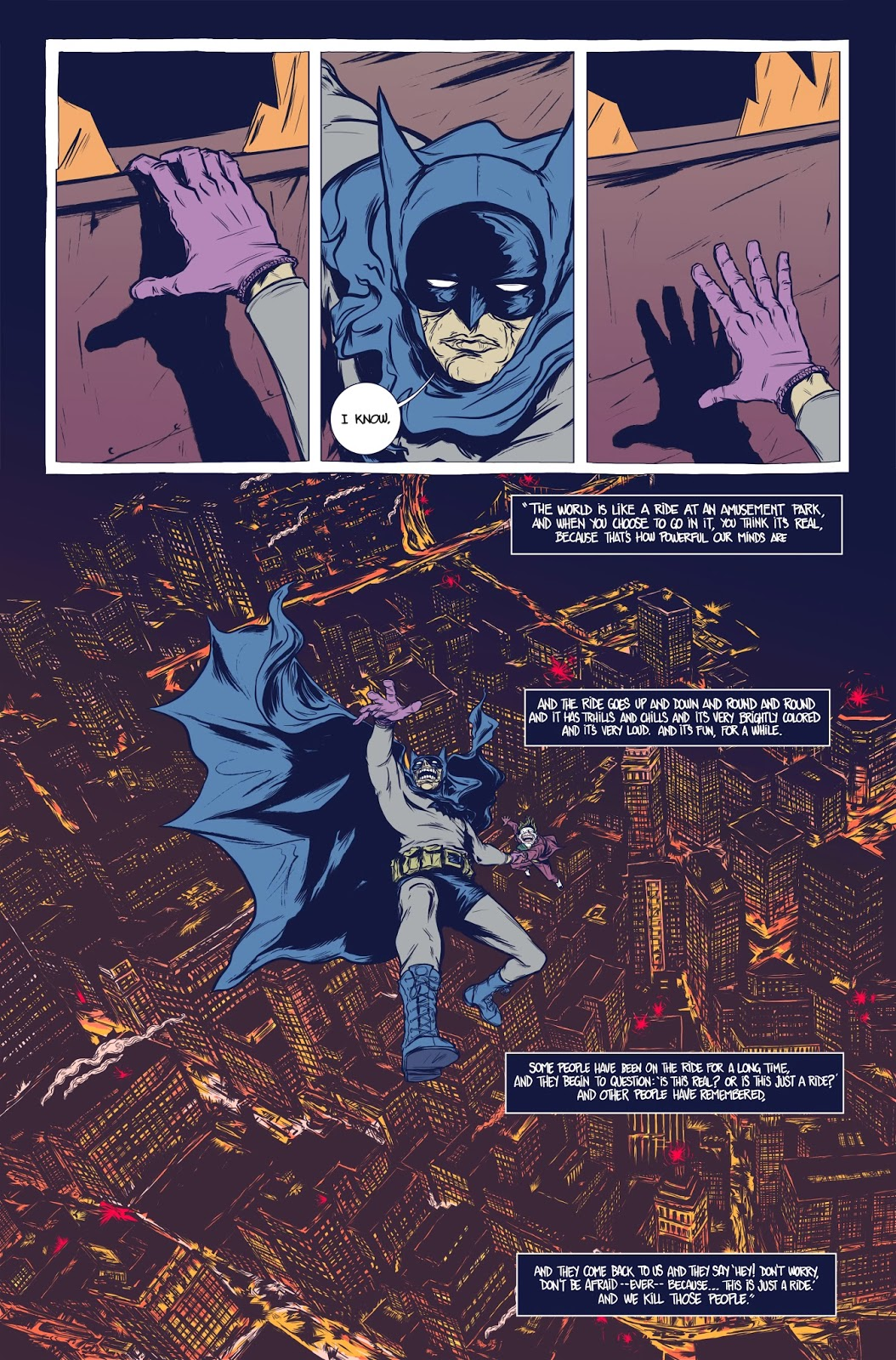 Moonhead Press: Batman: The Deal