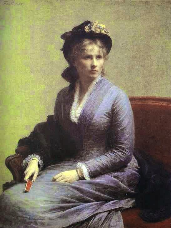 Charlotte Dubourg - Henri Fantin-Latour - Suas melhores pinturas ~ francês