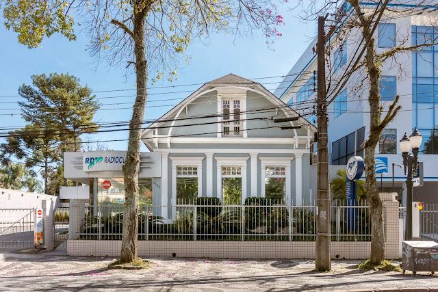Esta casa na Rua Comendador Araújo é uma Unidade de Interesse de Preservação