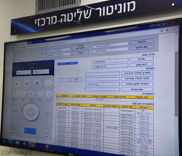 main control monitor