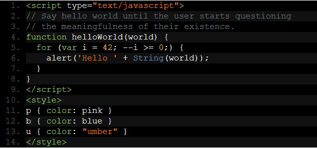 Syntax Highlighter Prettyprint