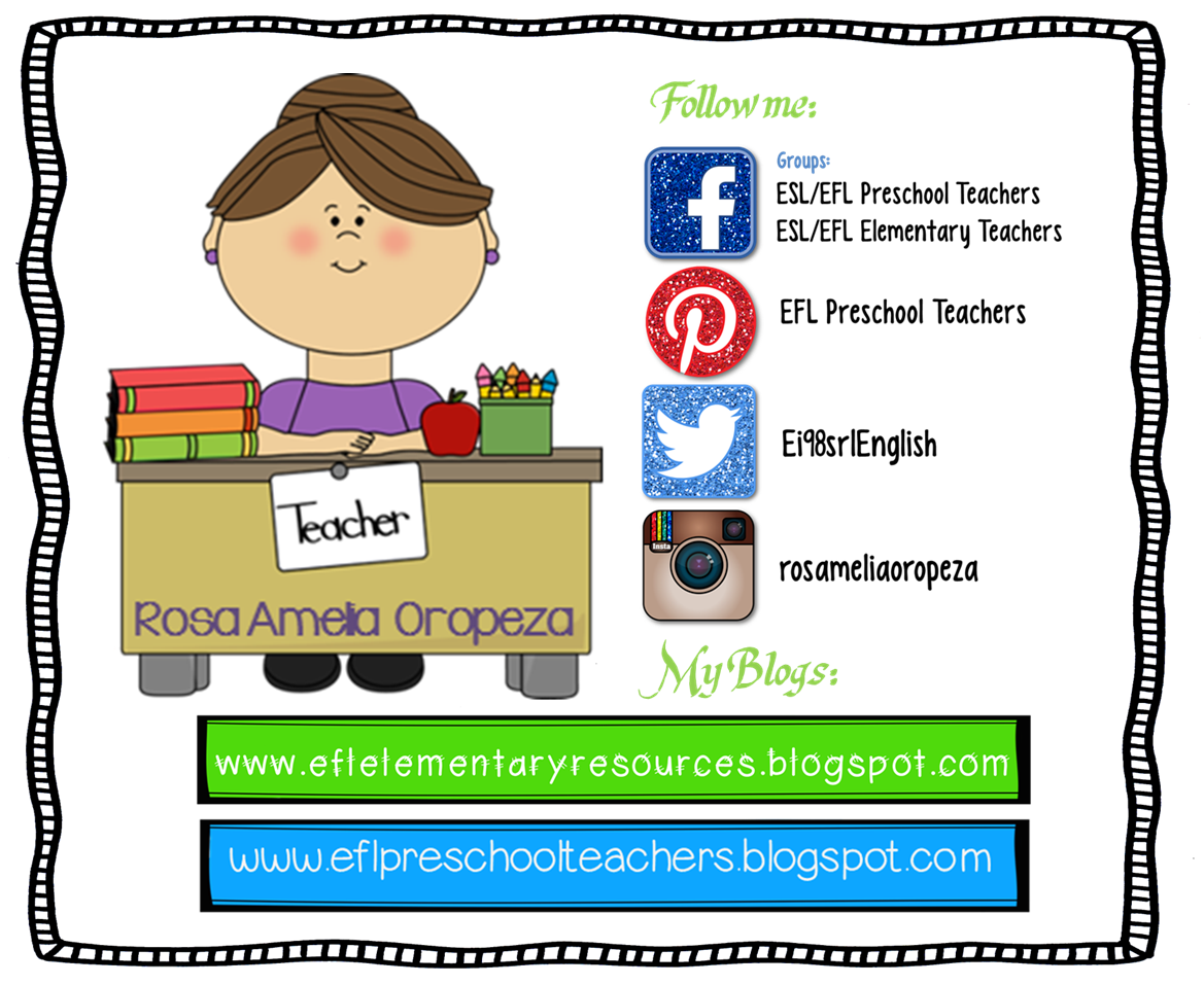 Esl Efl Preschool Teachers