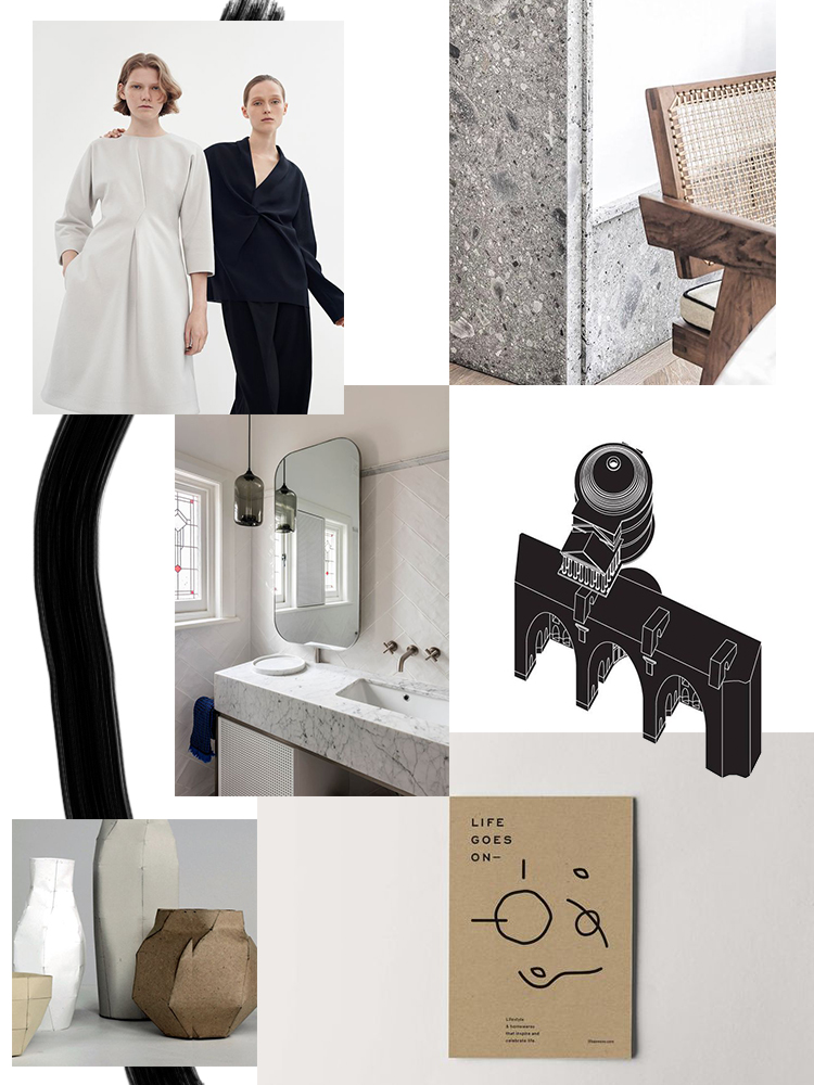 Design inspiration moodboard by My Paradissi