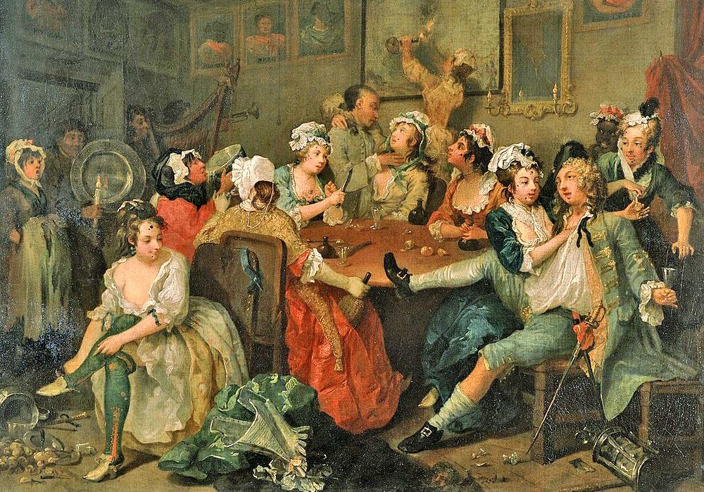A Rake's Progress—Tavern Scene