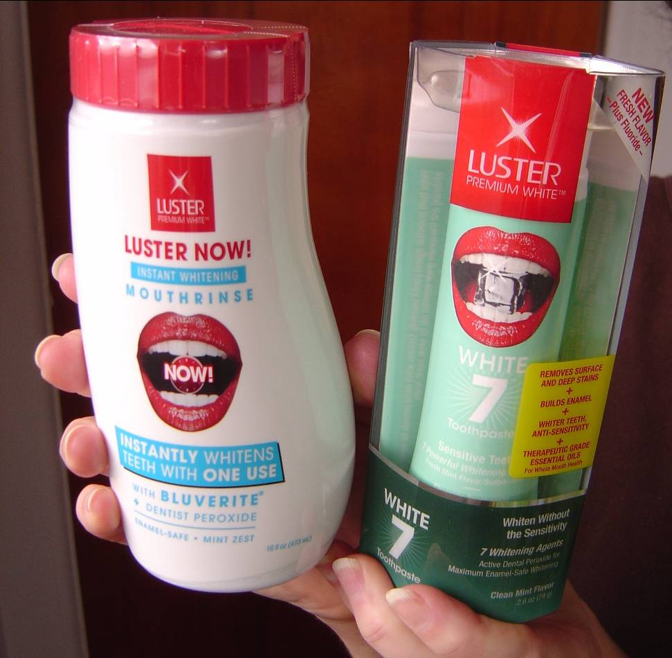 Luster Premium White's Power White7 Toothpaste and Luster NOW! Mouth Rinse.jpeg
