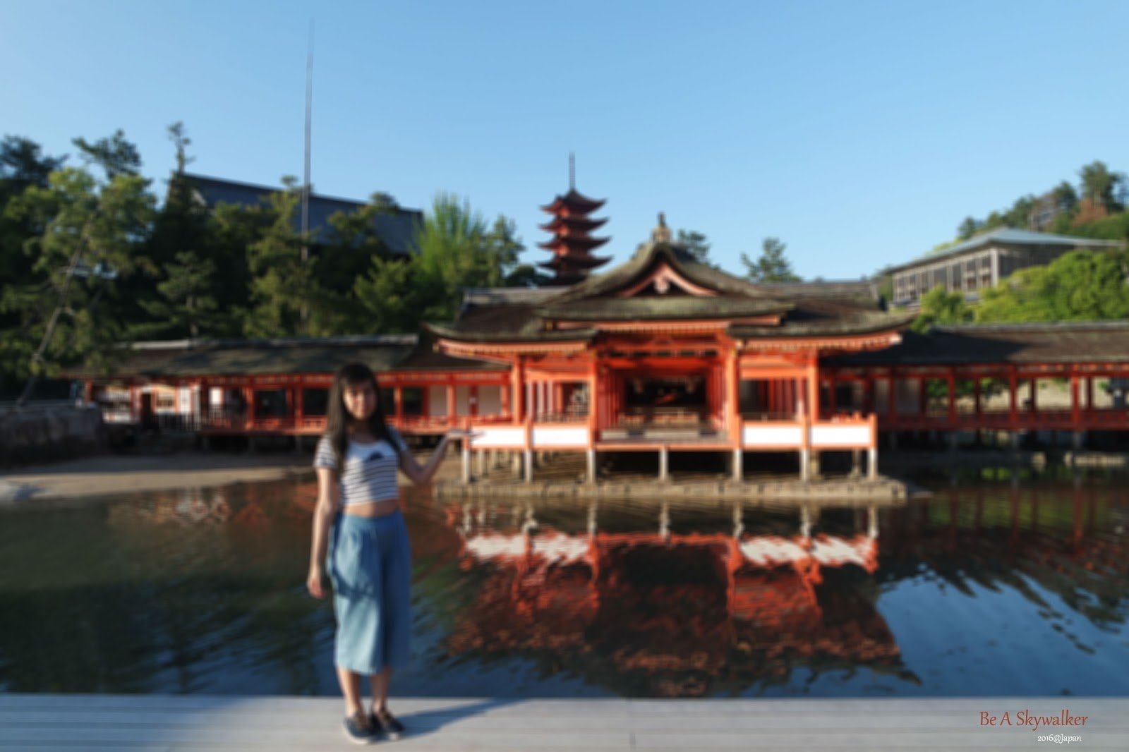 Be A Skywalker宮島一日遊Miyajima  海上大鳥居和嚴島神社 廣島京阪12日之旅