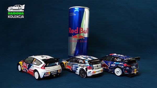 Citroen C4 WRC, VW Polo R WRC i Fiesta RS WRC - zwycięskie auta Sebastiena Ogier z mojej kolekcji