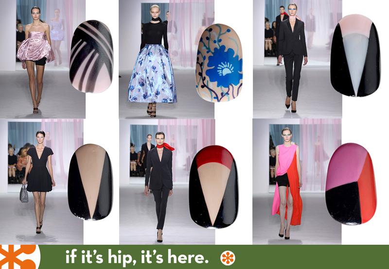 nail art for Dior fashions
