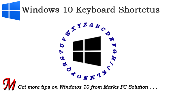 30 Keyboard Shortcuts for Windows 10
