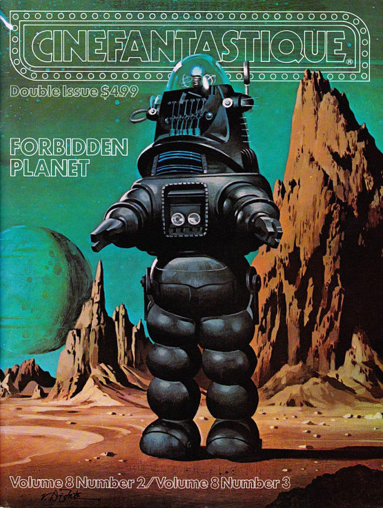 Forbidden Planet Double Issue Cinefantastique Magazine Vol. 8 #2