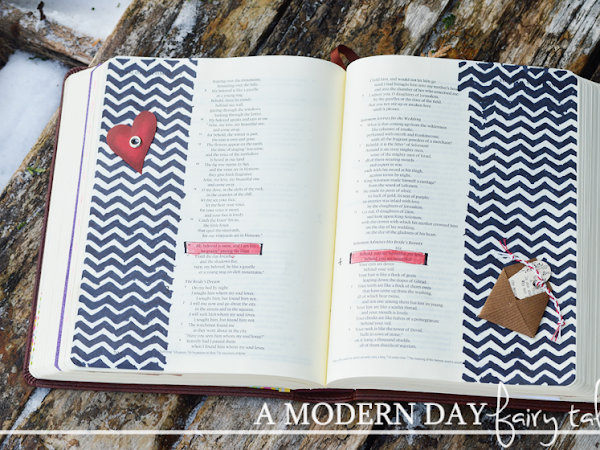 The Greatest Love of All {Valentine's Day Bible Journaling}