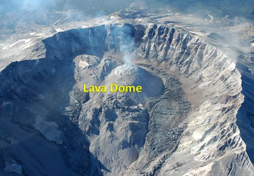 Riolit menjadi batuan utama penyusun Kubah Lava