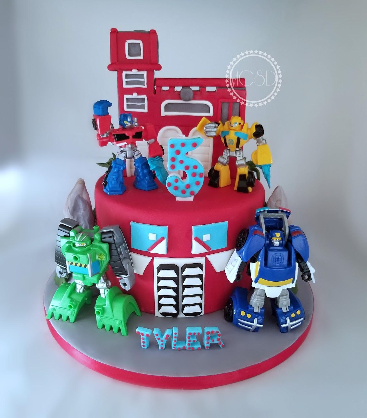 My Cake Sweet Dreams Rescue Bots Cake