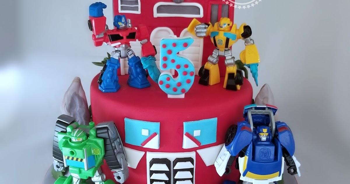 Awe Inspiring Cakesbyzana Rescue Bots Cake Funny Birthday Cards Online Alyptdamsfinfo