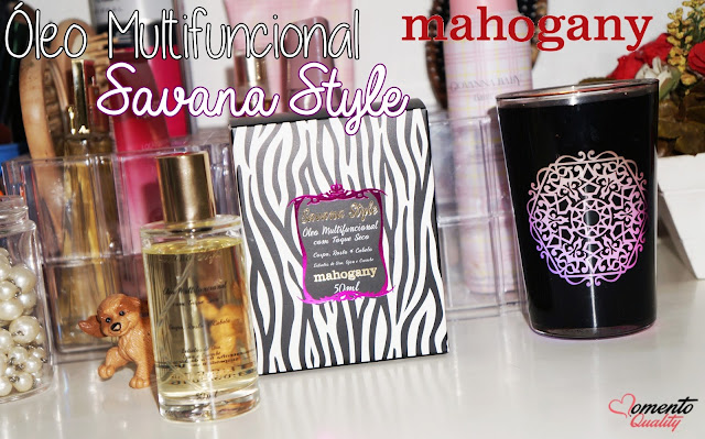 Óleo Multifuncional Savana Style Mahogany