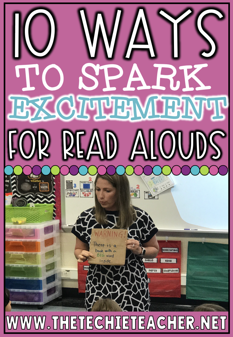 10 Ways to Spark Excitement for Read Alouds