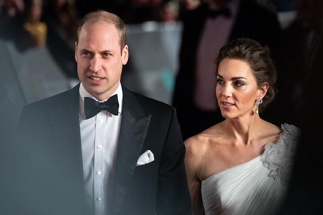 Kate i William na BAFTA Awards 2019