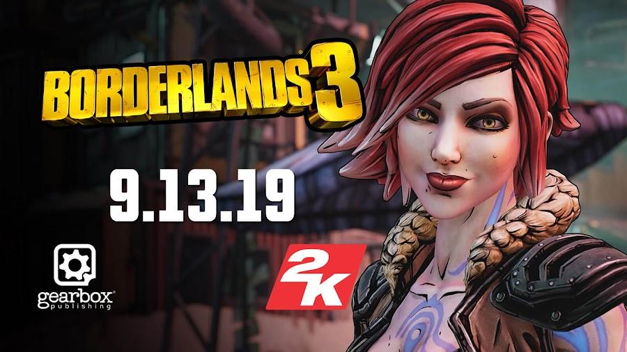 borderlands 3 gearbox 2k games release date pre order