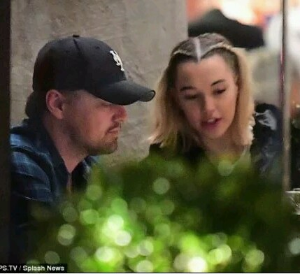 Leonardo DiCaprio, 43, hangs out with Jaden Smith's ex-girlfriend Sarah Snyder, 22.