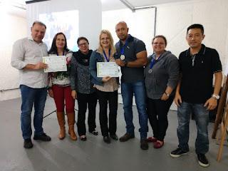 Colaboradores do XIX SEMPA 2018 de Registro-SP recebem homenagem